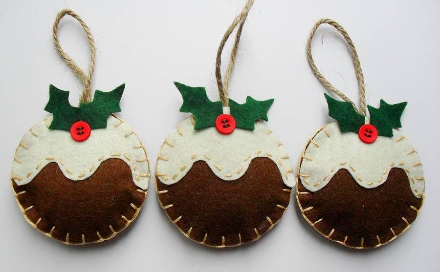 Handmade Christmas Decorations Google Search
