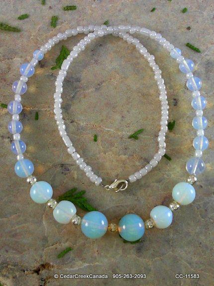 Opal Gemstone Necklace                         CC-11583