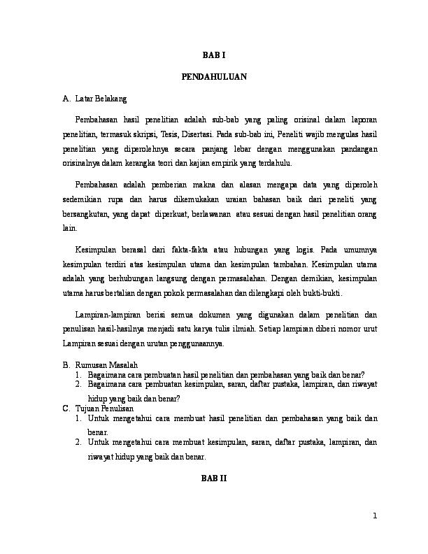 Jasa Pembuatan Skripsi Bab 4 Dan 5 Universitas Terbuka Jasa Cute766