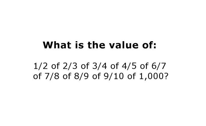 Can you solve this tricky math problem?? MORE puzzles: http://mes.fm ...