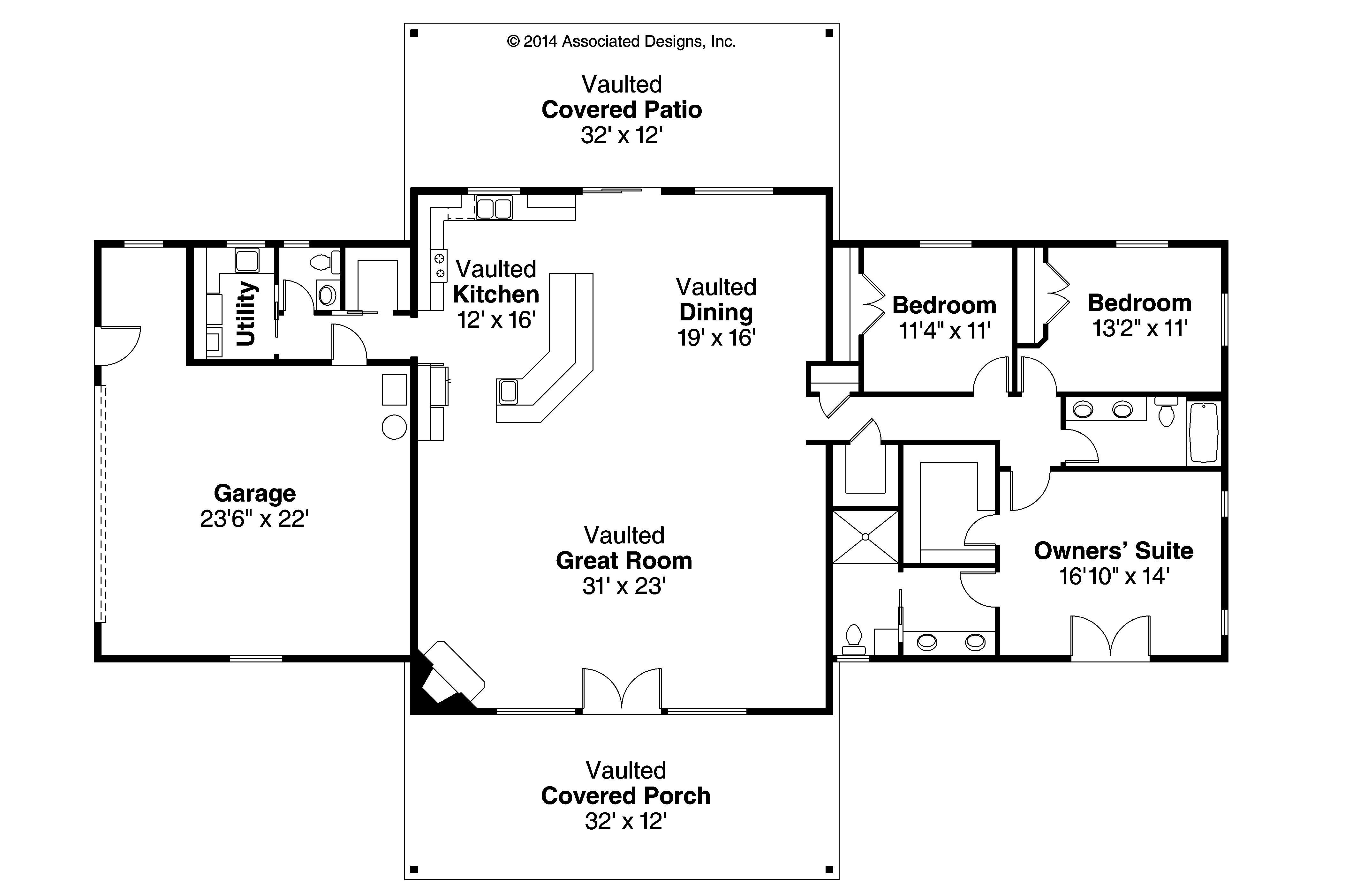 Anacortes Basement House Plans Garage House Plans Ranch House Floor Plans