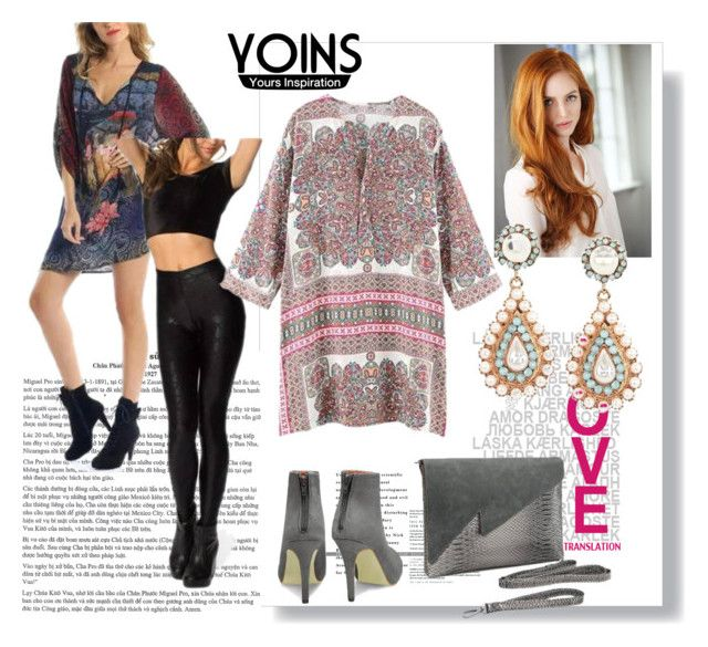"""""""Yoins-IV/9"""" by nihada-niky ❤ liked on Polyvore featuring moda, vintage, women's clothing, women, female, woman, misses, juniors y yoins"""