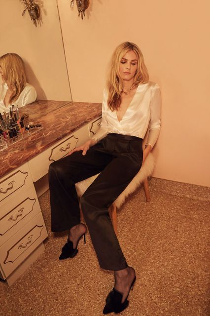 Reformation Holiday Collection 2016 Andreja Pejic