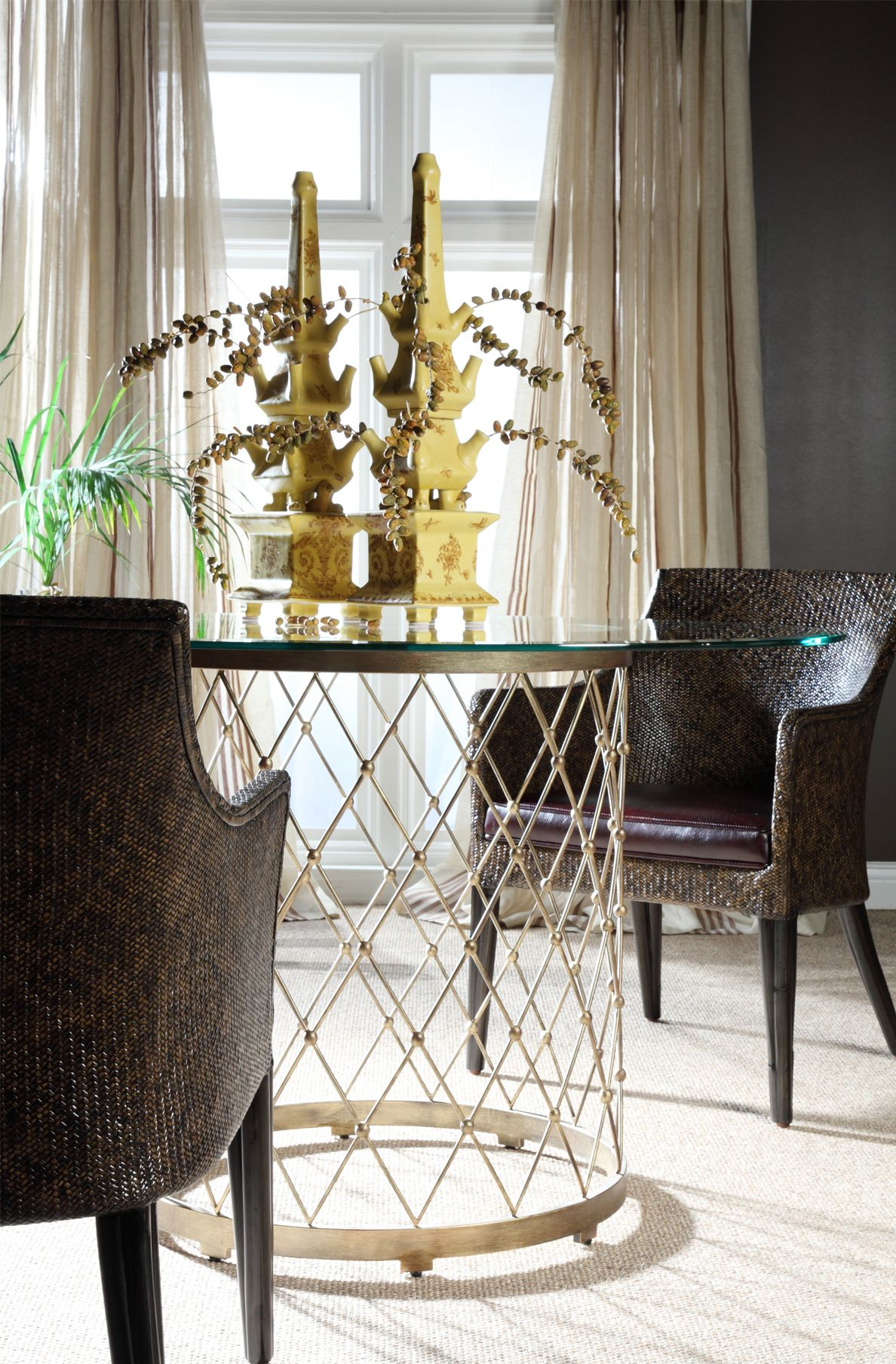 Arm Chair Dining Room Adorable Cora Arm Chair W Royère Dining Tableartistica Home Design Inspiration