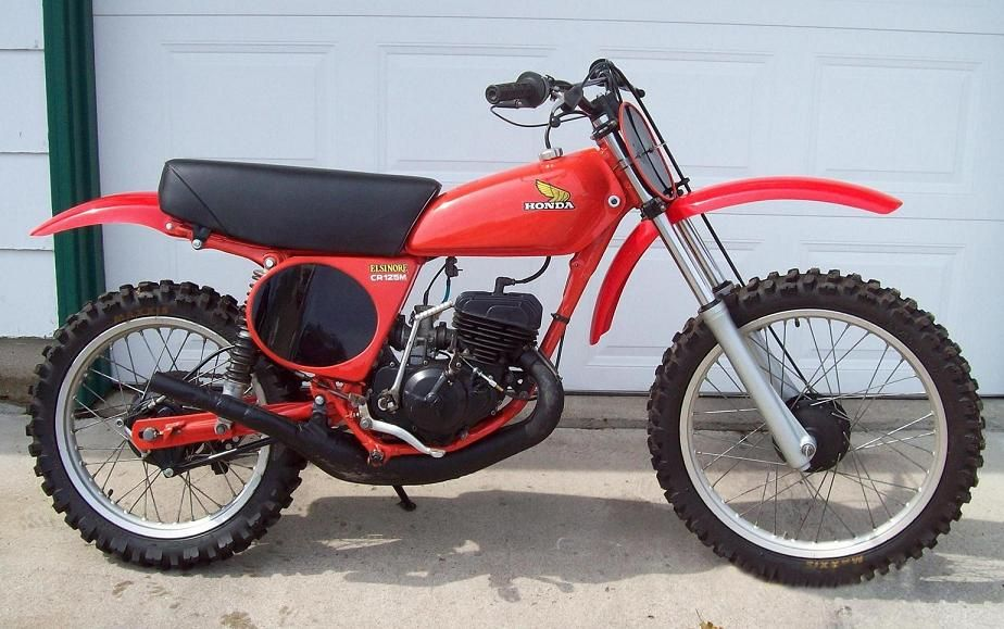 Vintage Motocross Bikes For Sale Honda Cr125 Elsinore I Hade One Just Like This In Junior High Honda Dirt Bike Honda Cr Motocross Bikes For Sale