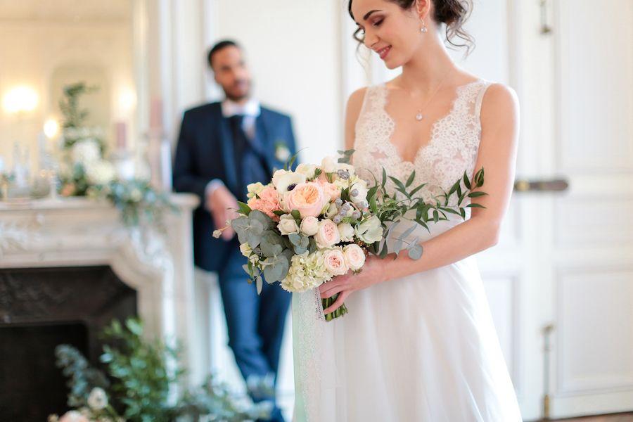french castle wedding inspiration
