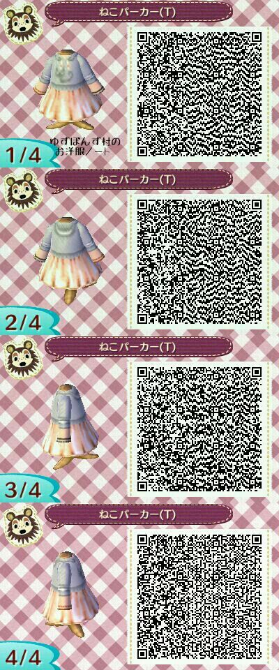 Pin by Cristina Gonzalez on Qr clothes   Pinterest   Qr codes ... Qr Code Animalcrossing Happy Home Designer Clothing Html on