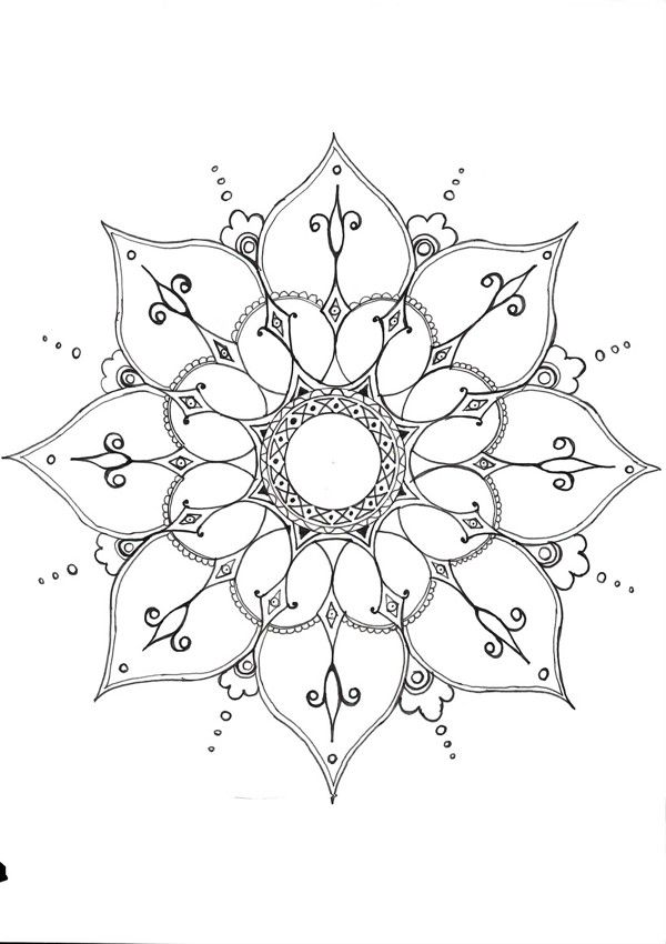 Pin by Catherine Ritchie on Drawings | Pinterest | Mandalas, Dibujos ...