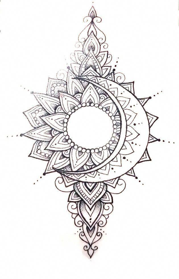 Photo of schönes Mandala Tattoo #Mandalatattoo