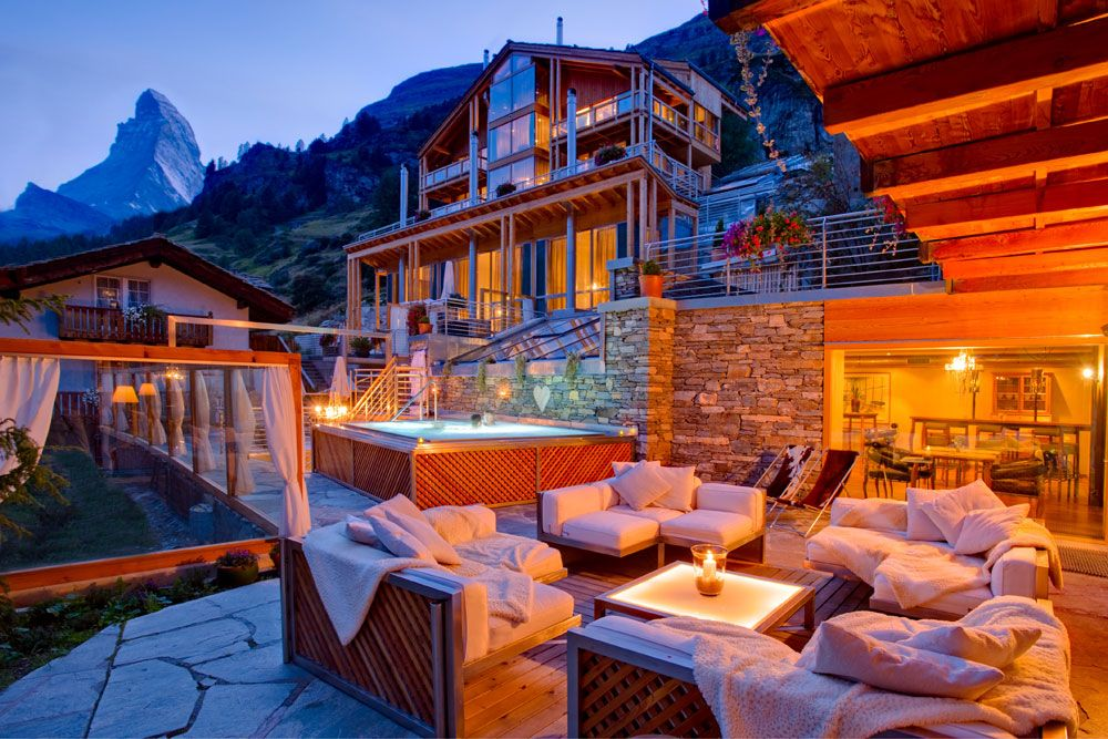 Boutique beauty in the swiss alps coeur des alpes hotel for Beautiful hotels