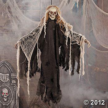 Light-Up Hanging Skeleton #OrientalTrading #HalloweenWishList