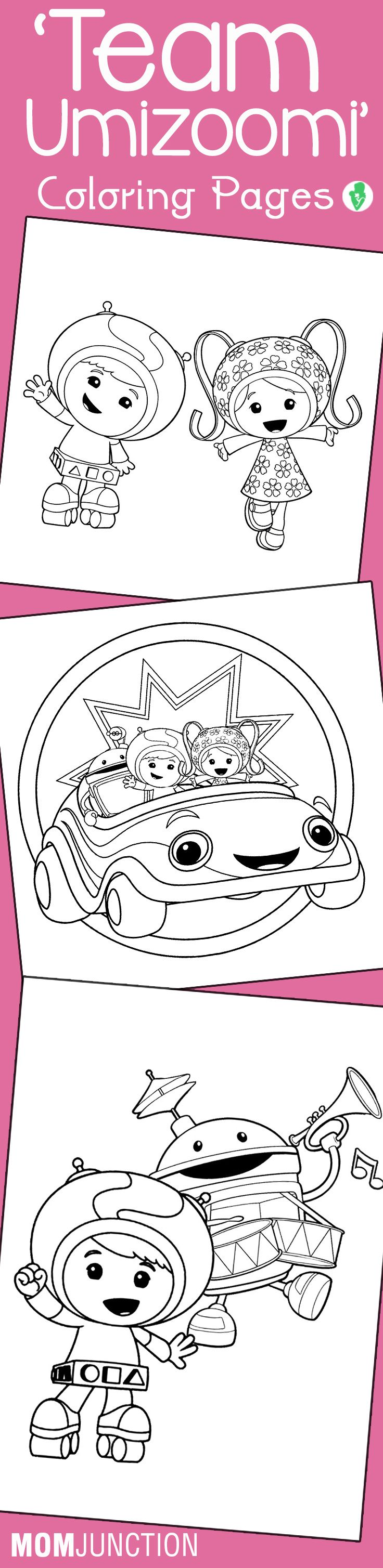 10 Best \'Team Umizoomi\' Coloring Pages For Your Toddler | Pinterest ...