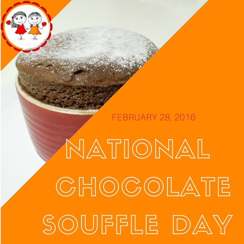 February 28 2016 Is National Chocolate Souffle Day Check Out This Board For Content Inspiration To Share Healthy Ideas With You Chocolate Souffle Souffle Day