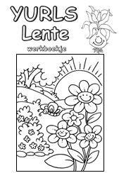 Kleurplaten Lente Groep 3.Yurls Werkboekjes Werkboekjes Yurls Net Groep 3 4 Lente