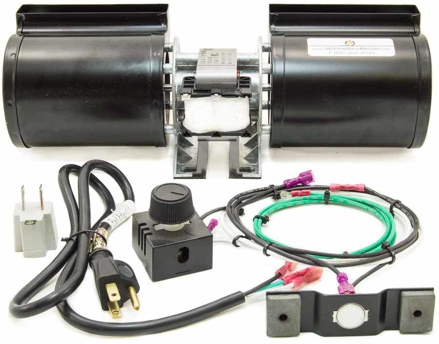 Gfk 160a Fireplace Blower Fan Kit For Heat Glo Fireplace