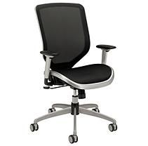 Hon Boda Series High-Back Work Chair - Mesh Seat and Back - Black