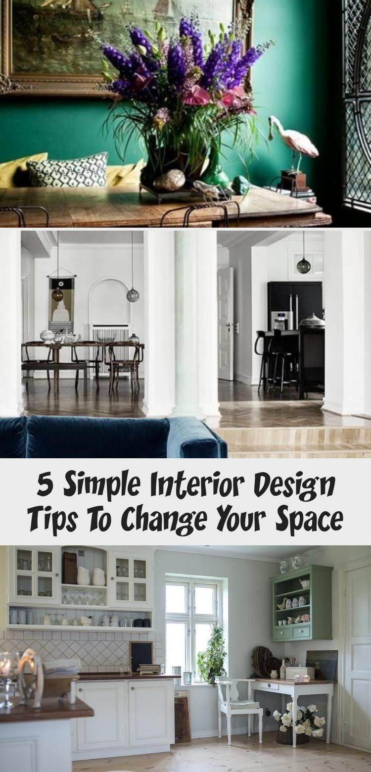 5 Simple Interior Design Tips To Change Your Space - Eluxe Magazine  #interiordesign #designtips #designhome #interiors #interiorinspo #interiordesignideas  #interiordecorating #interieur #interiordesignbedroom #interiordesignEclectic #interiordesignApartment #interiordesignLuxury #interiordesignIdeas #Traditionalinteriordesign