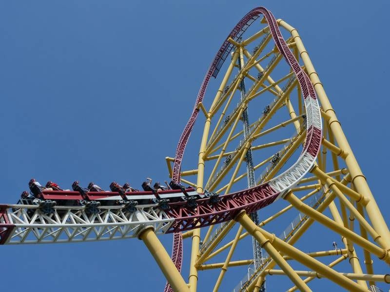 Top Thrill Dragster at Cedar Point Roller Coasters