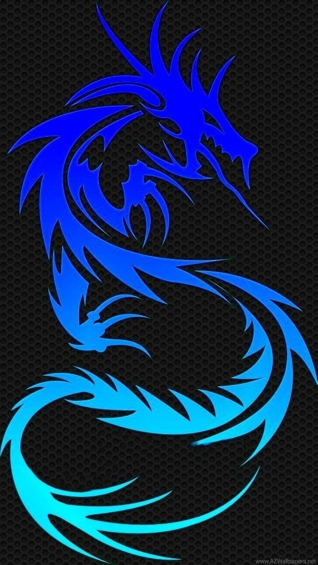 Blue Dragon Iphone 5 Wallpapers 640x1136 Dragon Wallpaper