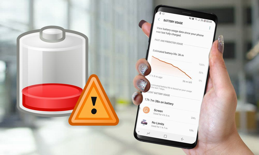 How To Fix Galaxy S9 S9 Plus Battery Drain Issue Galaxy Phone Fix It