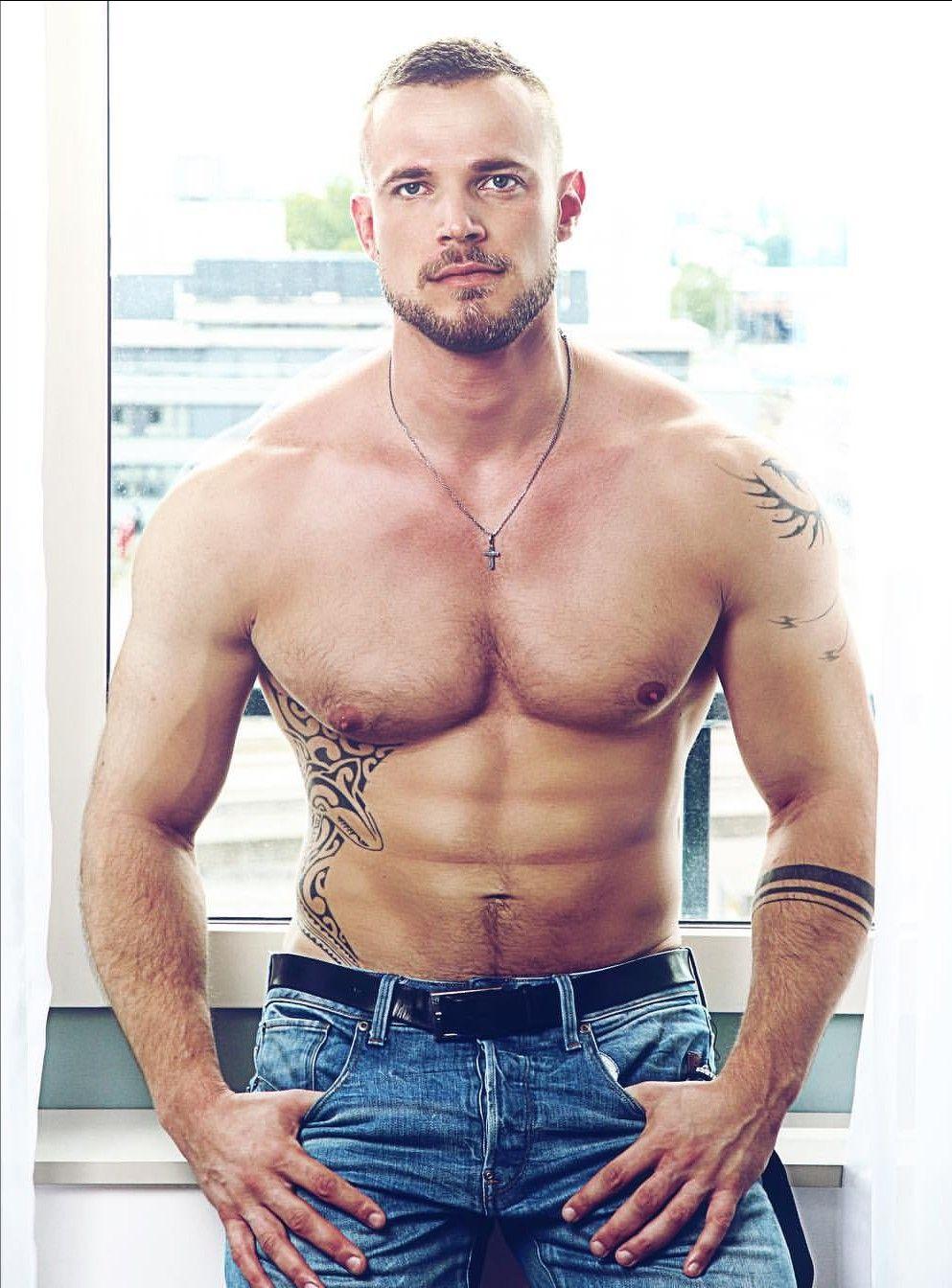 Muscle men plowing