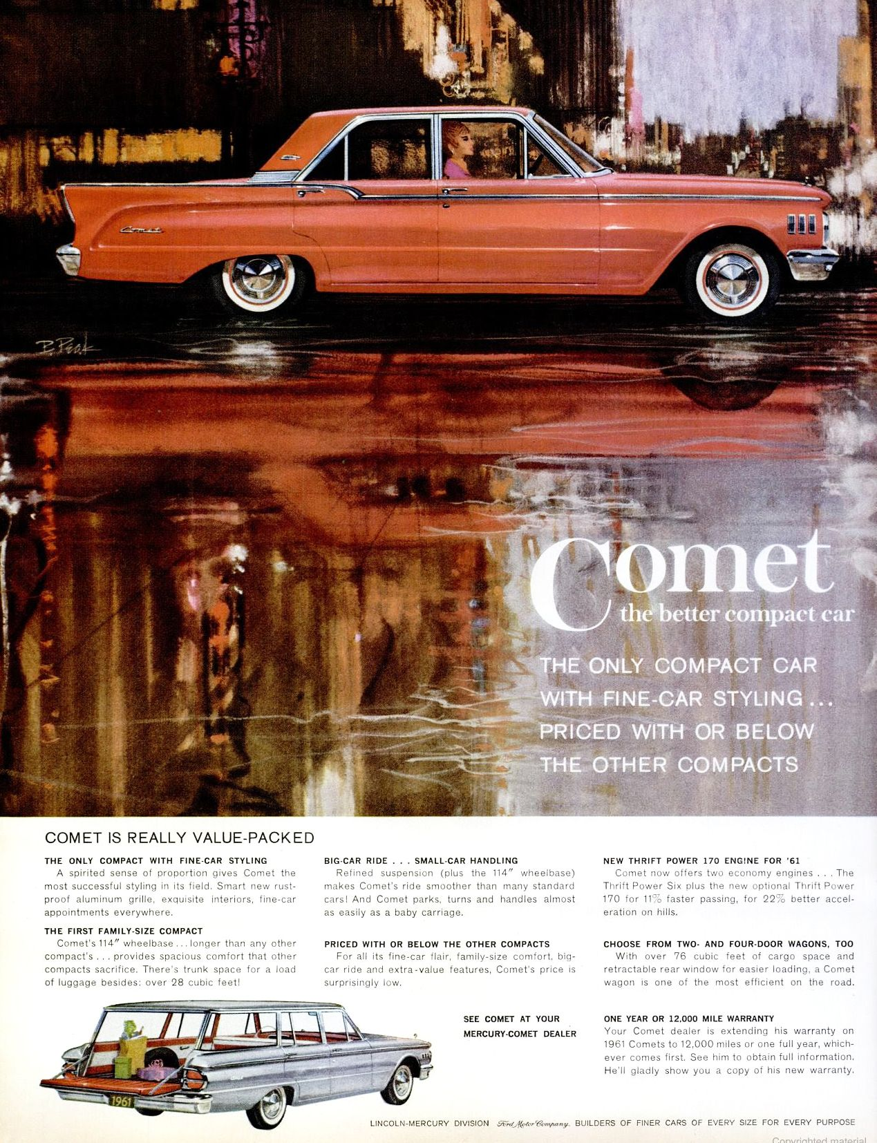 Pin By Robert Snipes On Cars Car Advertising Mercury Cars Comet