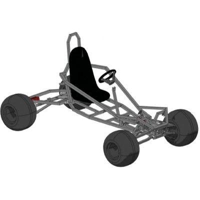 Go Kart Plans and Blueprints for SpiderCarts\' Arachnid Full ...