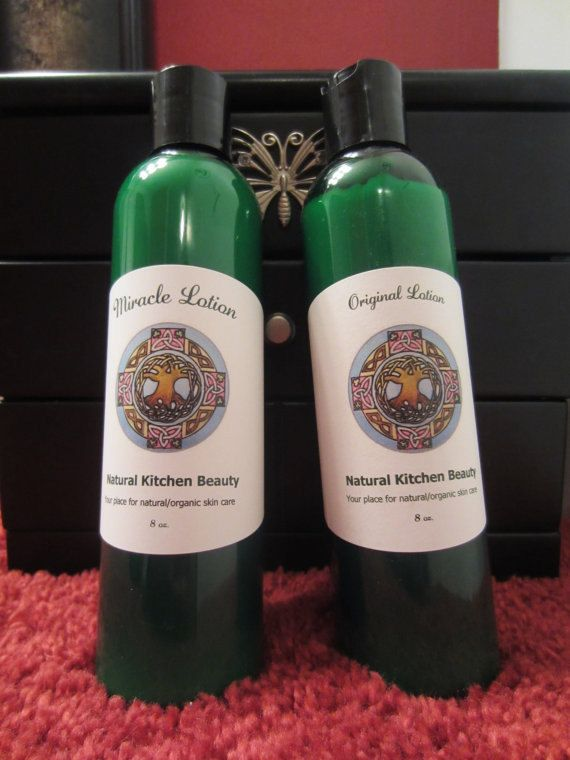 Miracle Lotion 8oz by NaturalKitchenBeauty on Etsy
