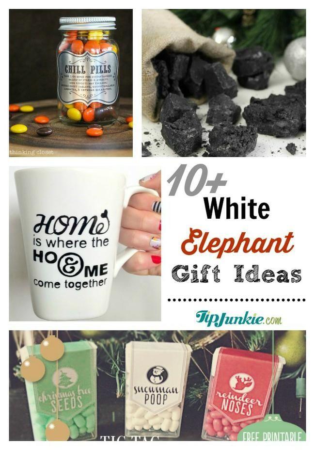 11 Great White Elephant Gift Ideas | Best of Pinterest | Pinterest ...