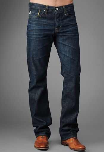 Can You Wear Jeans To Work Is Your Denim Professional Enough To Pull Off At The Office Mens Jeans Guide Big Men Fashion Mens Fashion Jeans