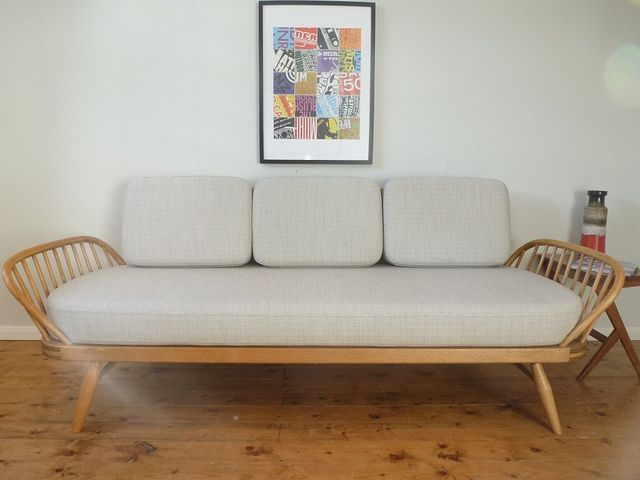 Ercol Daybed Cushion Set by Upholstery-Art Ltd, via Flickr
