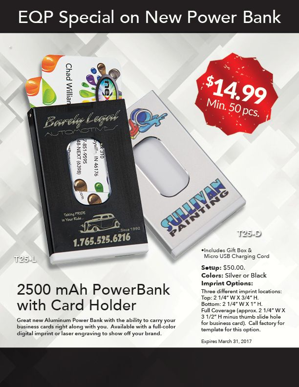 Power Banks From Next Products Business Card Holders Card