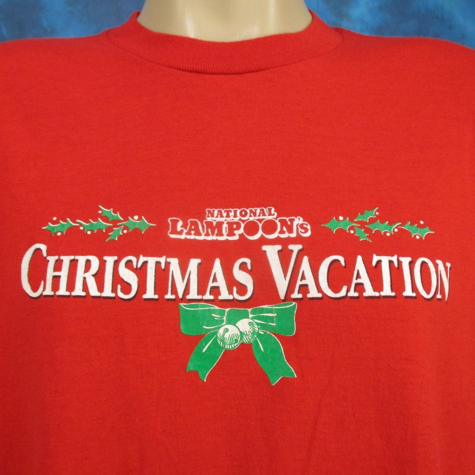 vtg 80s NATIONAL LAMPOON'S CHRISTMAS VACATION MOVIE PAPER