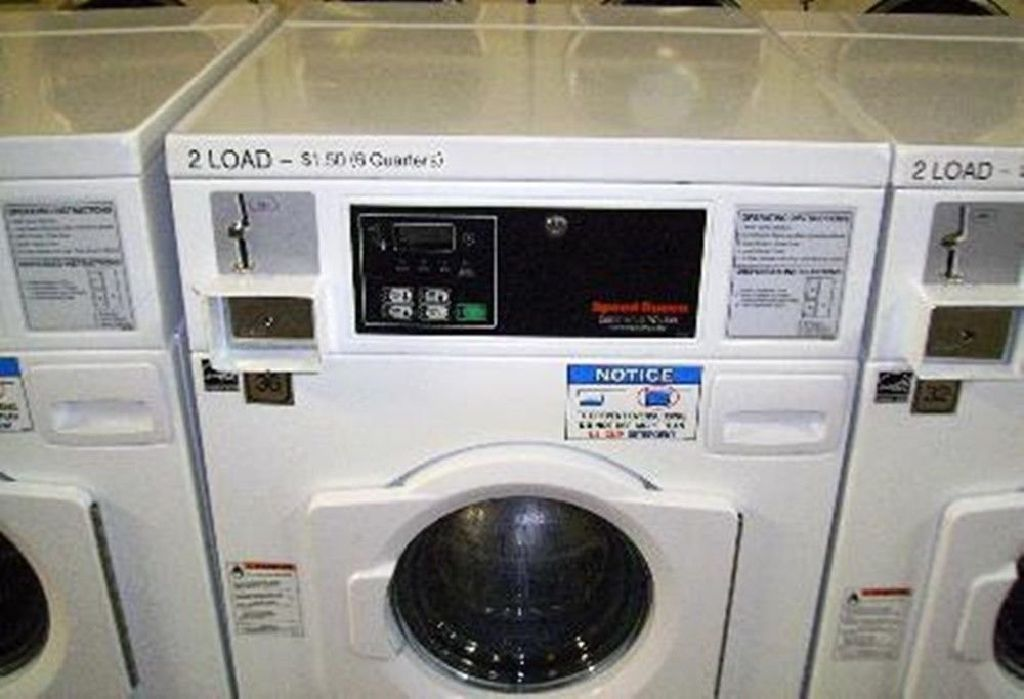 Coin Operated Speed Queen Horizon Washer 1ph Swft61wn Used Sc50ec2
