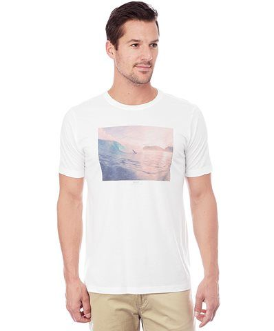 Reef Official Store, REEF BEETURN, white, Guys : Apparel : T-Shirts