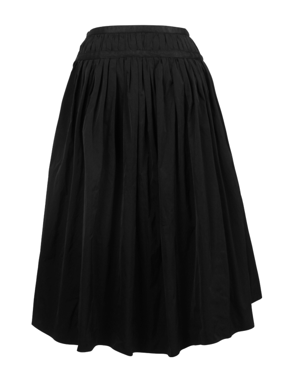 Long skirt in memory taffeta | Repetto