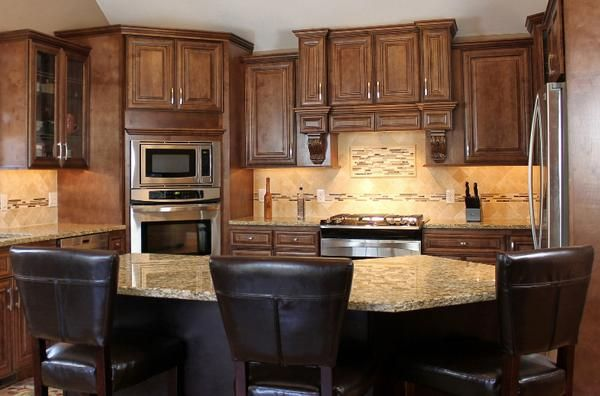 how to upgrade kitchen cabinets chocolate maple kitchen vanity framed cabinets 3 7379