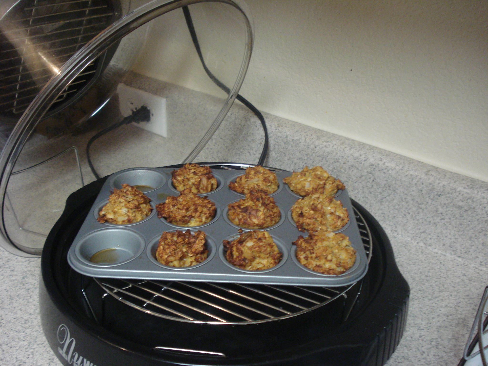 Michelle D. used her NuWave Oven to make Tuna Muffins in