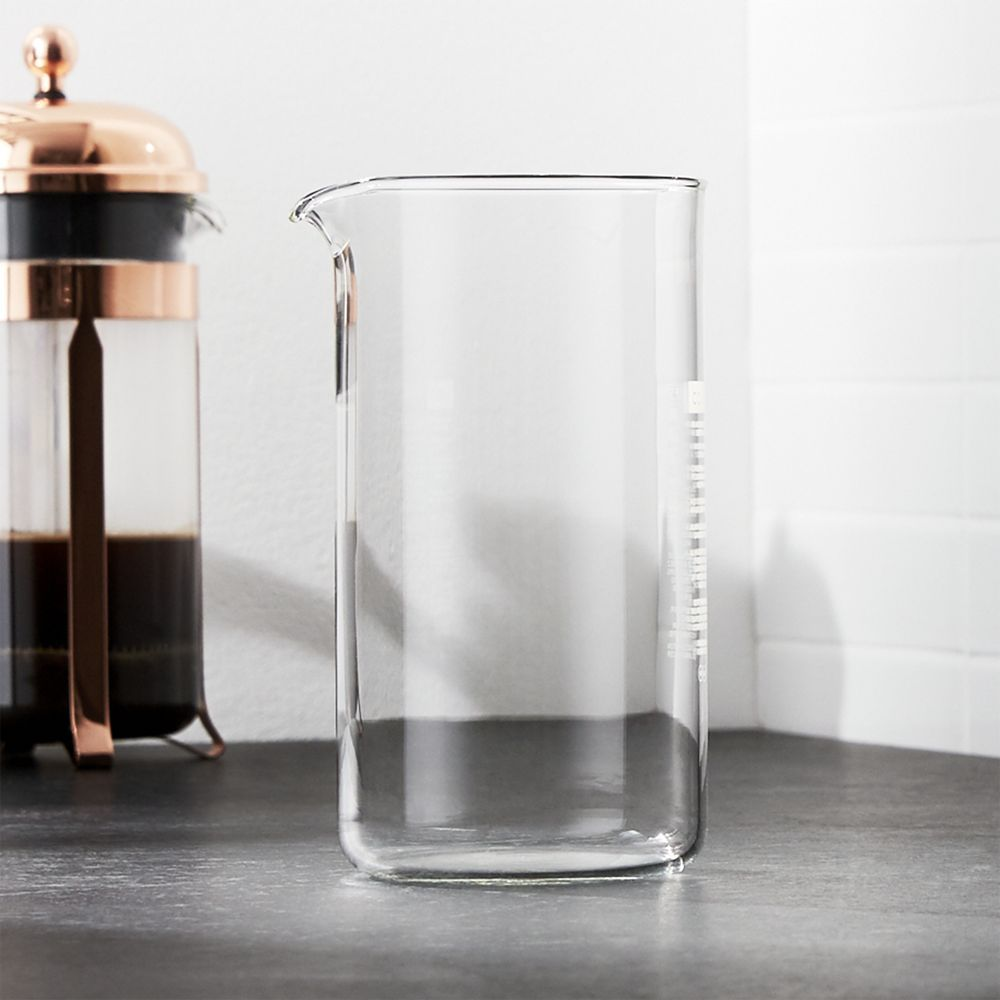 Bodum french press replacement glass - Replacement 34 Oz Carafe For Bodum Chambord French Press