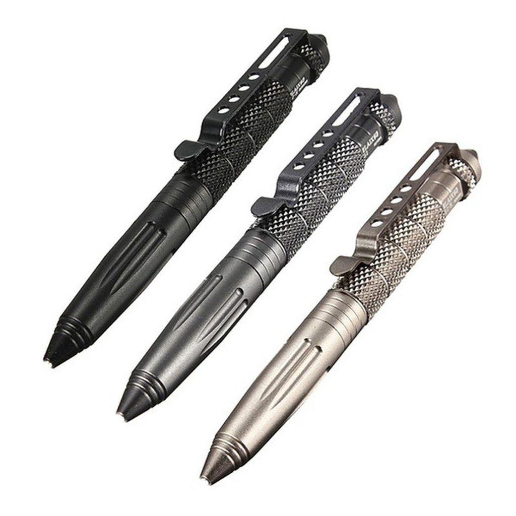 EDC Titanium Alloy Self Defense Survival Safety Tactical Pen Writing Tools