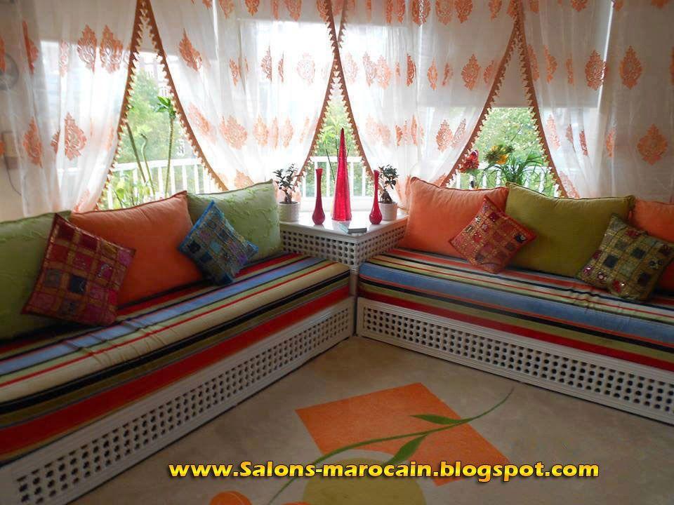 d coration salon marocain salon marocain salon marocain 2014 salon marocain moderne salon. Black Bedroom Furniture Sets. Home Design Ideas