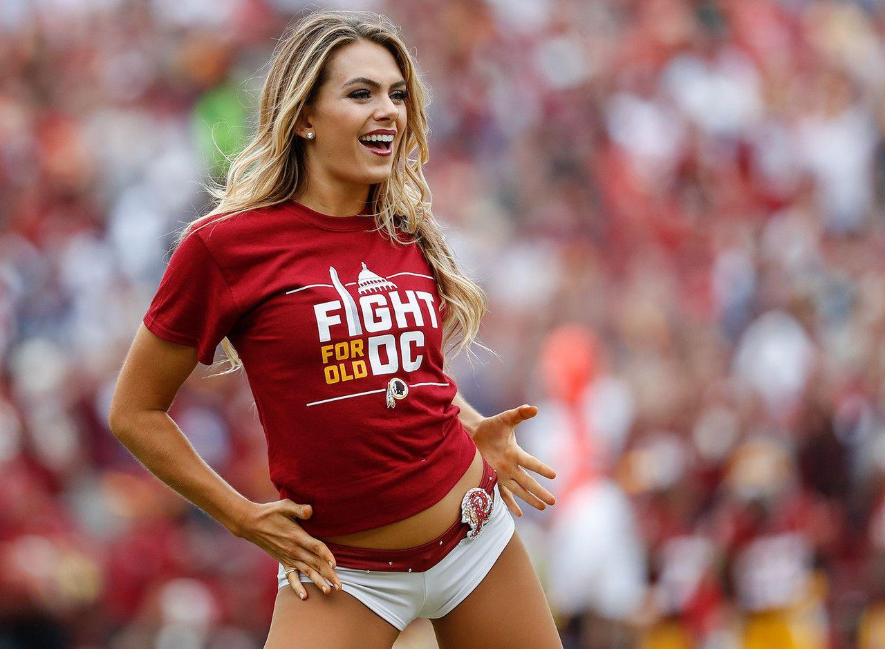 Best of 2016 Week 2 cheerleaders Redskins cheerleaders