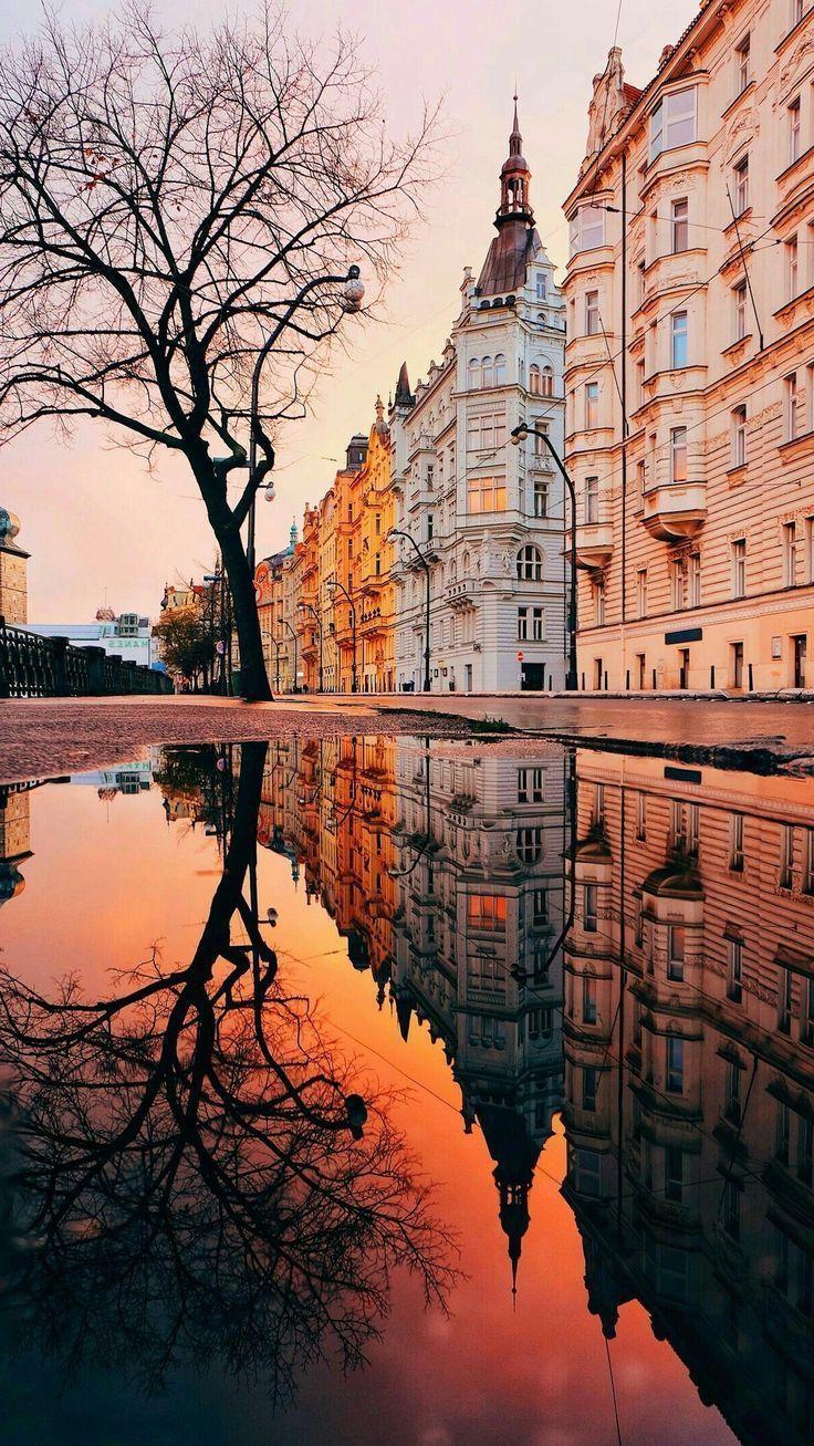 Sonnenuntergang Reisefoto - Architecture Diy
