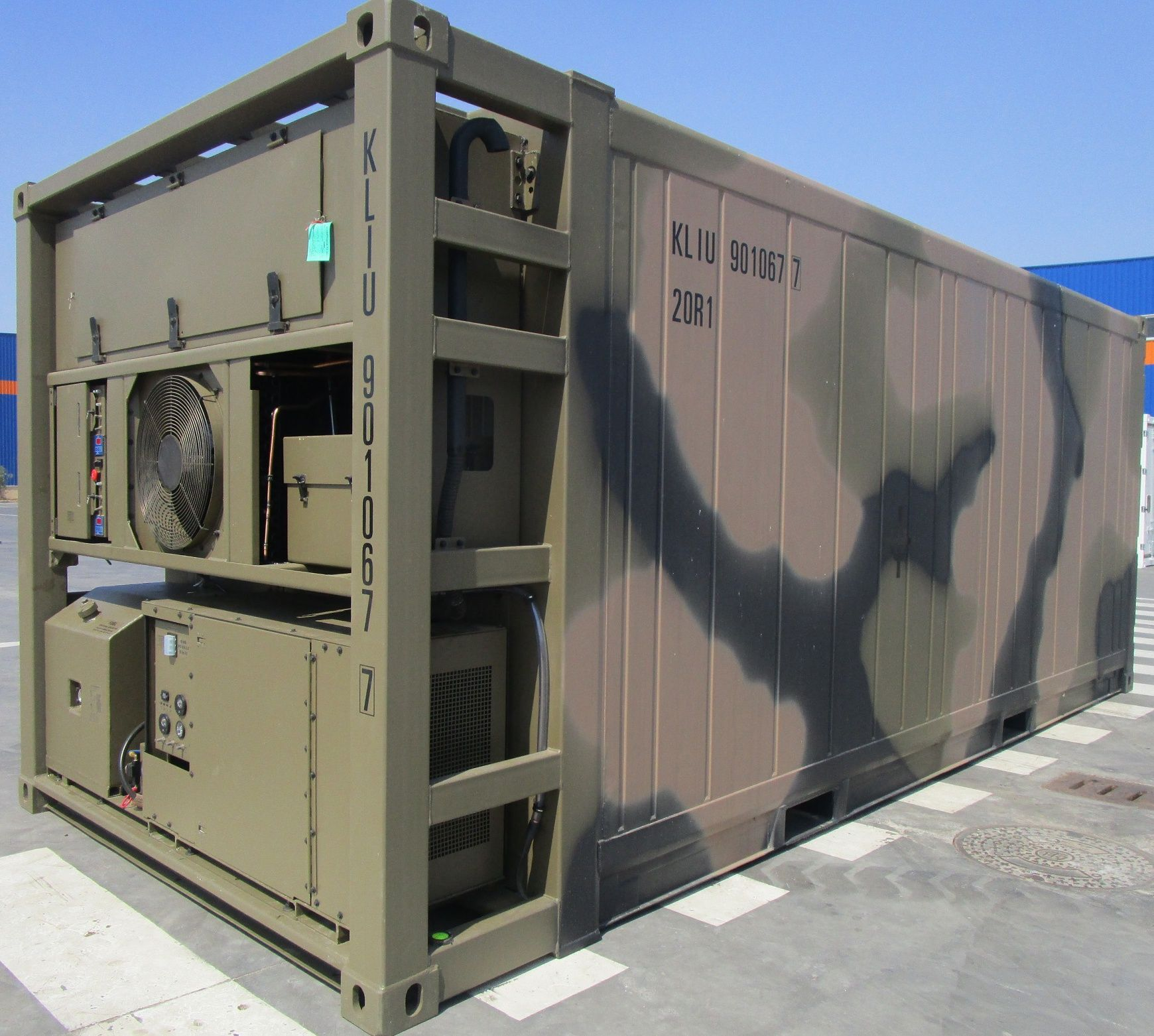 ISO-container military - Google 검색 | Technikcontainer | modified ...