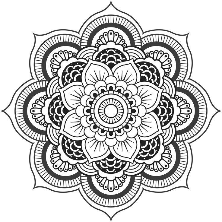 Image result for floral mandala designs | Left Arm Sleeve Top ...
