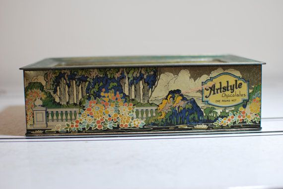 Vintage Candy box from duncanag @Etsy