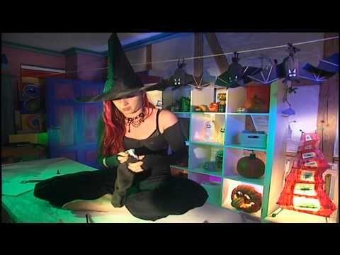 basteln mit kindern f r halloween halloween deko diy selber machen youtube videos. Black Bedroom Furniture Sets. Home Design Ideas