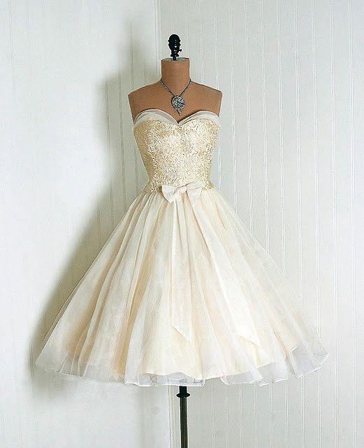 1950 Robe de mariée d'autrefois