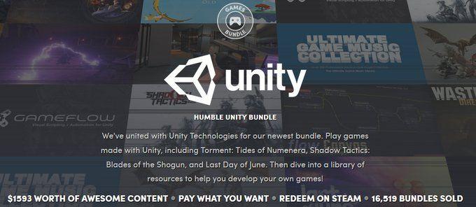 Humble Unity Bundle: $1593 worth of Unity Games like Tides