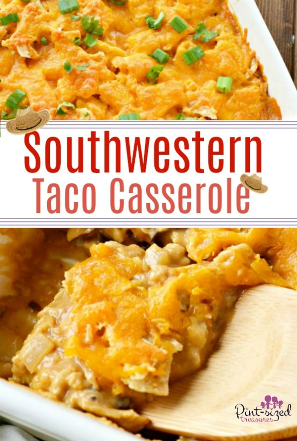 The Best Southwestern Taco Casserole Recipe Food